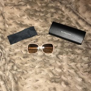 Authentic Burberry Beige Sunglasses